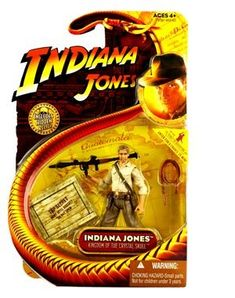 Indiana Jones Series 2: The Kingdom Of The Crystal Skull Indiana Jones With Missile Launcher Action  @ niftywarehouse.com