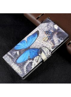 Housse Sony Xperia XA1 - Papillon Bleu