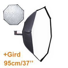 59.21$  Watch here - http://aliw1x.worldwells.pw/go.php?t=32363855798 - 95cm Octagon Softbox Reflector+Bowens Mount with Grid for Studio Flash Photo Studio Soft Box Photography Accesorios Fotografia 59.21$