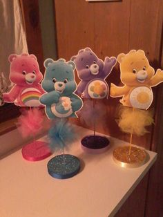 Care Bear Themed Birthday Party by PartyStylingsofMandy on Etsy