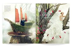 ★ DESIGN ARMY – Washingtonian Bride & Groom: Bride and Seek (Editorial Design and Art Direction) © Design Army LLC