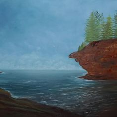 Voir l'image grand format Oil On Canvas, Water, Outdoor, Image, Painted Canvas, The Great Outdoors, Aqua, Art Oil, Outdoors