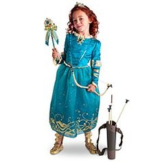 Disney Merida Costume Collection for Girls | Disney Store...yes, I want another one...