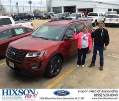 Congratulations Tammy & Dave on your #Ford #Explorer from Joel Massey at Hixson Ford of Alexandria!  https://deliverymaxx.com/DealerReviews.aspx?DealerCode=UDRJ  #HixsonFordofAlexandria