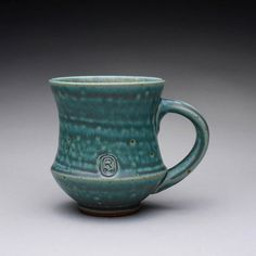 handmade pottery mug teacup ceramic cup with by rmoralespottery, $25.00