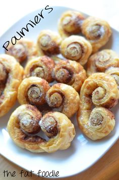 1000+ images about P A L M I E R S on Pinterest | Puff pastries ...