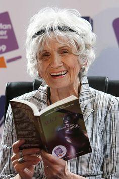 Le escritor Alice Munro, Nobel de Literature 2013
