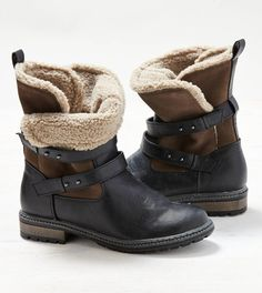 Fatigue Olive AEO Sherpa Lined Moto Bootie