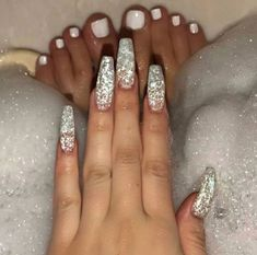 Hottest Trends for Acrylic Nail Shapes Dope Nails, Nails On Fleek, Gorgeous Nails, Pretty Nails, Beautiful Toes, Hair And Nails, My Nails, Fall Nails, Matte Nails