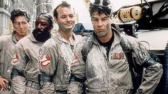 Harold Ramis, Ernie Hudson, Bill Murray & Dan Aykroyd behind the scenes on #Ghostbusters (1984).