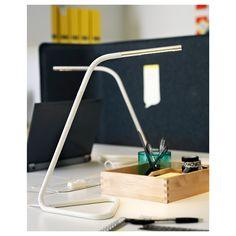 IKEA - HÅRTE LED work lamp white, silver color