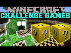 Minecraft: MUTANT CREEPER CHALLENGE GAMES - LUCKY BLOCK MOD - Modded Mini-Game - YouTube