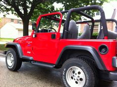 1998 Jeep Wrangler Reviews - http://www.daniilmove.com/2015-07-10/1998-jeep-wrangler-reviews.html : #Jeep In 1998 Jeep Wrangler has the fuel tank became standard at capacity of 19 U.S. gallons (72 L; 16 imp gal). There were some changes significantly. From Jeep Wrangler model year 1997 to 2002, the door mirrors on the side were black metal framed mirrors. And from 2003 to 2006, they were plastic mo...
