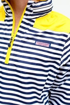 Striped Windbreaker