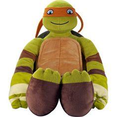 Teenage Mutant Ninja Turtles Michelangelo Pillowbuddy  Walmart 15.00