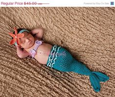 On Sale Mermaid Tail Cocoon Mermaid Costume by CreativeDragonfly