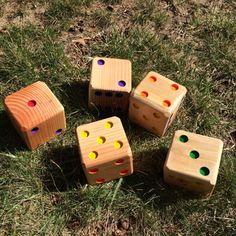 5 Yard Würfel Rasen Game Party Spiele Backyard Party Game Firmenveranstaltungen Holz-Würfel-Spiel