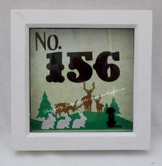 Tinyrose's Craft Room: House Number Frame and a New Home Card Barbara Gray, Have A Good Weekend, Wooden Bird, House Of Cards, Live In The Now, House Numbers, Flower Making, Old Things, New Homes
