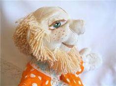 Resultado de imagem para выкройка головы куклы с открывающимся ртом