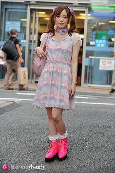 MANAMI (COOCHAN) Harajuku, Tokyo SUMMER 2013, GIRLS Kjeld Duits