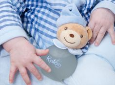 Baby Boy loves his Kaloo bear. Kaloo's baby boy scented water is alcohol free and perfect for baby's sensitive skin!