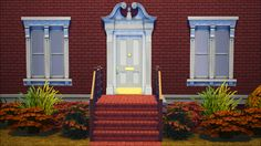 Tea 'n' Moon Sims, Pedimentary Doors by phoenix_phaerie(Set I and...