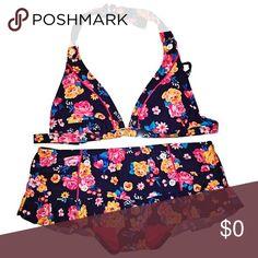 ✨NWOT Floral Print Bikini NWOT Floral Print Bikini Arizona Jean Company Swim Bikinis