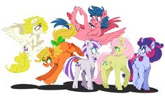 Am I the only one that wishes an episode of the mane six's moms and dads of the older generation of mlp