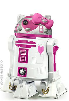 Star Wars + Hello Kitty- this is my daughter in a nut shell
