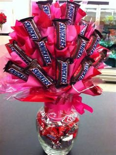 Valentine's Day Snicker Bouquet
