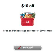 Target coupon: $10 off $50 grocery purchase - Money Saving Mom®