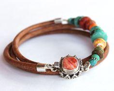Taos Wrap Bracelet  Sundance style silver by ChickpeaDesignStudio, $117.00