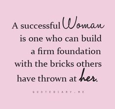 Uh-uh. I have to agree with this. What about you? :) #successfulwomen #foundation