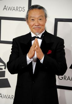 GRAMMY nominee KItaro arrives at the 56th Annual GRAMMY Awards on Jan. 26 in Los Angeles
