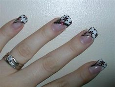 Latest Nail Art designs for New Year for girls and ladies 2015 Nail Art Design Gallery, Simple Nail Art Designs, Cute Nail Designs, Acrylic Nail Designs, Art Gallery, French Nails, Cute Nails, Pretty Nails, Nail Art 2014
