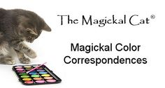 TheMagickalCat.com Color Correspondences - Free Guide to the Magickal Properties of Color