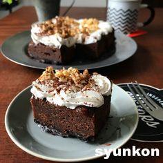 Sweets Recipes, Cake Recipes, I Love Food, Vegan Vegetarian, Chocolate Cake, Deserts, Food And Drink, Baking, Drinks