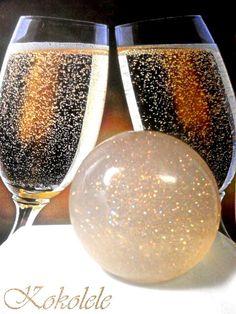 Champagne Bubble Soap by Kokolele on Etsy