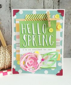 Hello spring - **Elle's Studio March** by Daniela D.