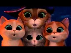 El Gato con Botas y los 3 Diablos - Audio Latino (COMPLETA) - YouTube