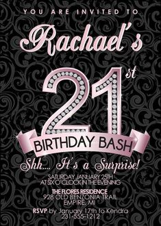 Birthday Invitation Templates Fresh 67 Best Images About Adult Birthday Party Invitations On Birthday Party Invitation Wording, 50th Birthday Party Invitations, Invitation Ideas, Invites, Elegant Invitations, Invitation Design, Birthday Cakes, Wedding Invitation, Adult Birthday Party