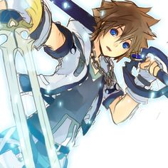 Sora (Kingdom Hearts) | We Heart It | kingdom hearts, sora, and anime