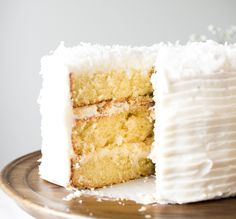 Flourishing Foodie: Coconut Cake