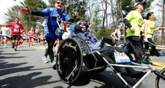 One Last Boston Marathon Together for Dad and Disabled Son