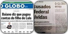 Essa é histórica. O colunista Lauro Jardim, egresso da Veja, estreou no Globo com uma notícia bombástica que virou manchetão de capa. Delator da Lava Jato diz que pagou despesas...