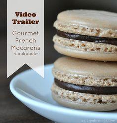 gourmet french macaron book trailer | @Mindy Burton Burton Burton CREATIVE JUICE