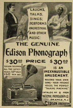 1904 Edison Home Phonograph National Phonograph Co Orange Nj Vintage Ad Fashionable Patterns Merchandise & Memorabilia