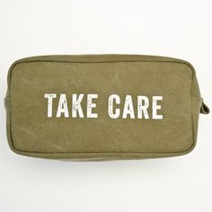 Fab - live your fab life. Fitness, health & wellness products for you. Dopp Kit, Market Bag, Military Green, Take Care, Zip Around Wallet, Pouch, Bring It On, Mens Fashion, My Style