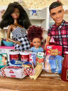 Barbie Kids, Baby Barbie, Barbie Family, Barbie And Ken, Mattel Barbie, Baby Girl Toys, My Baby Girl, Toys For Girls, Beautiful Barbie Dolls