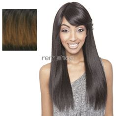 Brown Sugar Soft Swiss Lace BS402 - Color H1B/30 - Blend Swiss Lace Front Wig